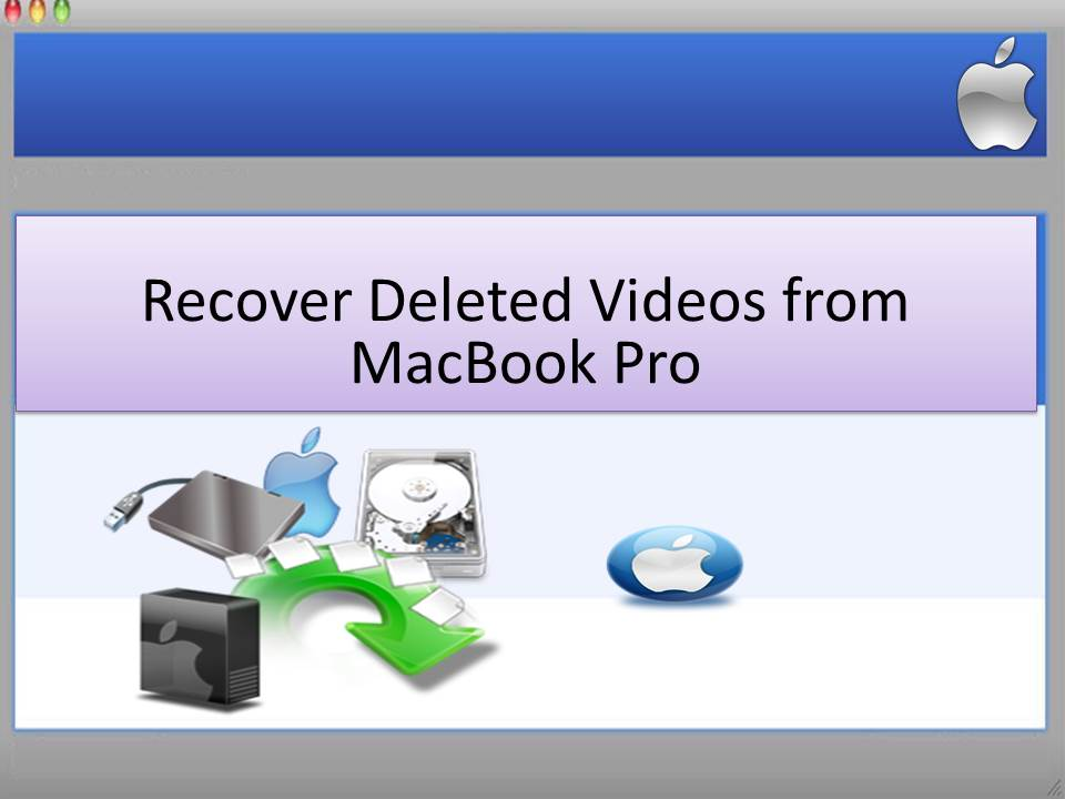 Recover Deleted Videos from MacBook Pro full screenshot