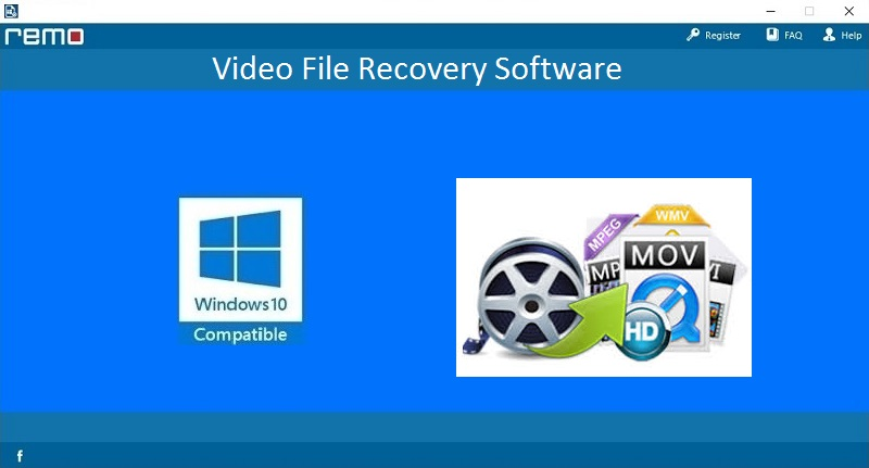 Video File Recovery Software full screenshot